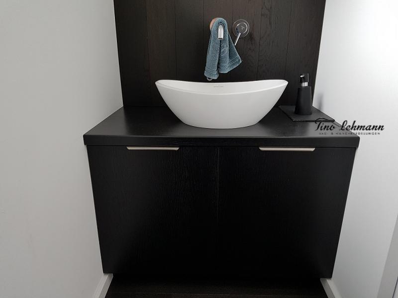 Wohnideen Gäste Wc schwarz weiss im gäste wc wohnidee um frankfurt wiesbaden taunus